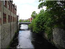 SJ9698 : River Tame, Stalybridge by John Topping