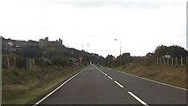 SH5832 : Entering Harlech on A496 by John Firth