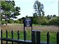SU7276 : No Entry to Caversham Park by Des Blenkinsopp