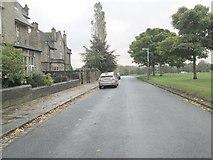SE0823 : Queen's Gate - looking towards Manor Heath Road by Betty Longbottom