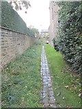 SE0823 : Footpath - Manor Heath Road by Betty Longbottom
