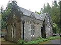 NS1485 : Benmore Botanic Garden : The East Gatehouse by Richard West