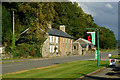 SH5740 : Café and Cottages at Bwlch-y-moch by Peter Trimming