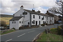 SD7992 : The Moorcock Inn at the A684/B6259 junction by Roger Templeman