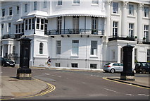TQ3303 : Entrance to Lewes Crescent by N Chadwick