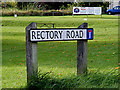 TL9140 : Rectory Road sign by Adrian Cable