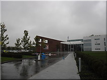 SU3715 : A rainy day at HQ by Basher Eyre