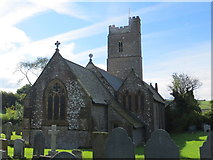 SS6243 : The church of St Thomas in Kentisbury by Peter Wood