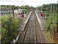 NS3960 : Howwood railway station, Renfrewshire by Nigel Thompson