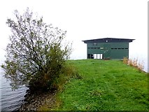 H5776 : Boat house, Loughmacrory by Kenneth  Allen