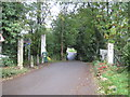 TL1614 : Wheathampstead: Site of Leasey Bridge Lane level crossing by Nigel Cox