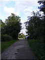 TL9141 : Church Road, Newton Green by Adrian Cable