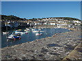SW4626 : Mousehole: looking over the harbour and village by Chris Downer