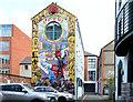 J3374 : Trade union mural, Belfast (1) by Albert Bridge