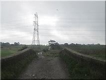 SD7130 : Track towards Cut Farm by John Slater