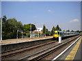 TQ2257 : Tattenham Corner station by Richard Vince