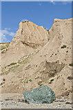 SH1726 : Cliffs above Aberdaron Beach  by Ian Capper