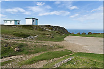 SH1325 : Former coastguard lookout point by Ian Capper
