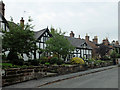 SJ4858 : Cottages on Church Bank, Tattenhall by John Allan