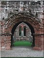 SD2171 : Furness Abbey - Archway to Chapter House by Rob Farrow