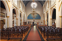 TQ2876 : St Bartholomew, (now St Nectarios), Battersea - West end by John Salmon