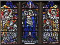 TQ2876 : St Bartholomew, (now St Nectarios), Battersea - Stained glass window by John Salmon