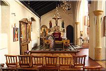 TQ2876 : St Bartholomew, (now St Nectarios), Battersea - North chapel by John Salmon