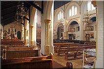 TQ2876 : St Bartholomew, (now St Nectarios), Battersea - Interior by John Salmon