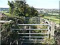 SE0820 : Double gates on Church Lane by Humphrey Bolton