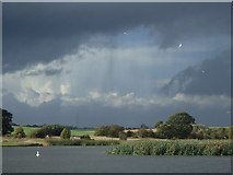 SK4569 : Carr Vale Flash and big sky by Andrew Hill