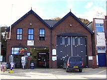 TA1280 : RNLI Lifeboat Station and Shop, Coble Landing, Foreshore Road, Filey by Terry Robinson