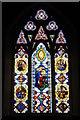 SN0717 : East window in Llawhaden church by Philip Halling