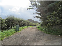 NZ6917 : Track  to  fields  from  Kilton  Thorpe  Lane by Martin Dawes