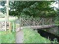 SE0820 : Footbridge over Black Brook by Humphrey Bolton