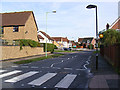 TM3863 : Brook Farm Road, Saxmundham by Adrian Cable