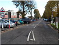 ST6377 : Entrance B to Frenchay Hospital by Jaggery