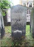TQ3282 : Grave of David Nasmith, Bunhill Fields by kim traynor