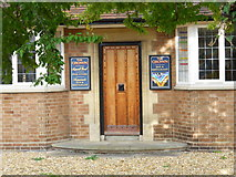 TF1505 : Entrance to the former Crown public house, Glinton by Paul Bryan