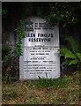 NN5207 : Glen Finglas Reservoir plaque by Ian Taylor