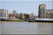 TQ3680 : Entrance to Limehouse Basin by N Chadwick