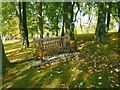 "NS5063 : Bench: ""Rest and Be Thankful"" by Lairich Rig"