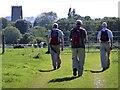 SJ6678 : Crossing Budworth Heath by Anthony O'Neil