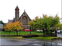 H4572 : Autumn scene, Dublin Road, Omagh by Kenneth  Allen