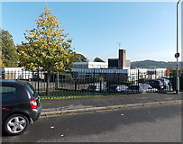 ST3091 : West side of Malpas Park Primary School, Newport by Jaggery