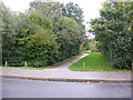 TM3763 : Footpath to the A12 Saxmundham Bypass by Adrian Cable