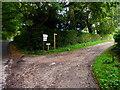 TQ0718 : Footpath leaves Nutbourne Road at Bramfold Farm by Shazz