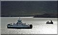 NG5435 : MV Hallaig and MV Loch Striven by John Allan