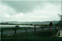 D4002 : The Harbour Highway causeway at Larne by Eric Jones