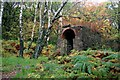 SK2579 : Former powder store in Padley Gorge by Graham Hogg