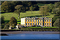 X0883 : View of Ballynatray House across the Blackwater River (2) by Mike Searle